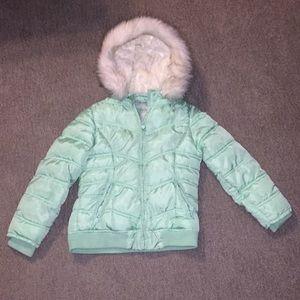 Justice girls coat